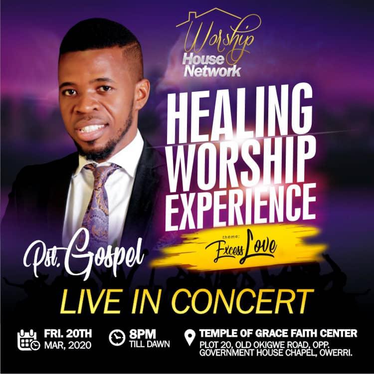 PST.GOSPEL ASHAMS | HEALING WORSHIP EXPERIENCE