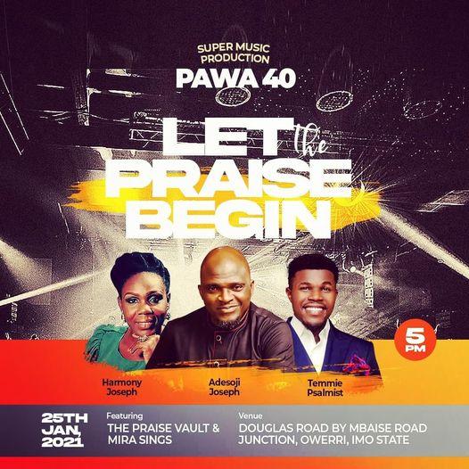 PAWA 40th Edition - Pst. Adesoji Joseph (PG1 Of Zion)
