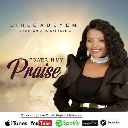 New Video: Lihle Adeyemi - Power In My Praise [LIVE]